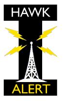 Hawk Alert Logo